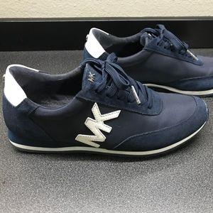 Michael Kors Navy Blue Sneakers 7.5